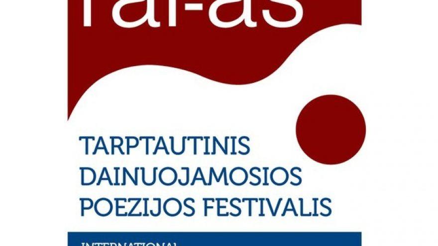"""Tarptautinis dainuojamosios poezijos festivalis """"Tai- aš"""""""