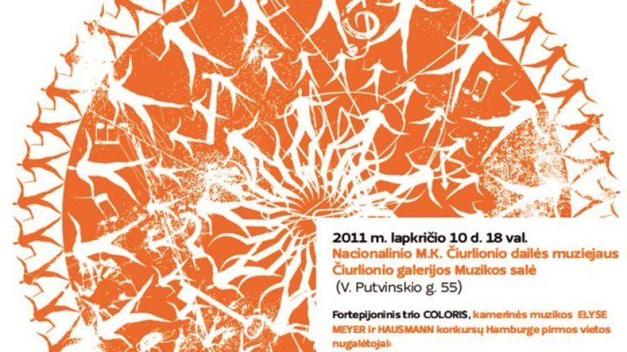 """Trio """"Coloris"""" koncertas"""