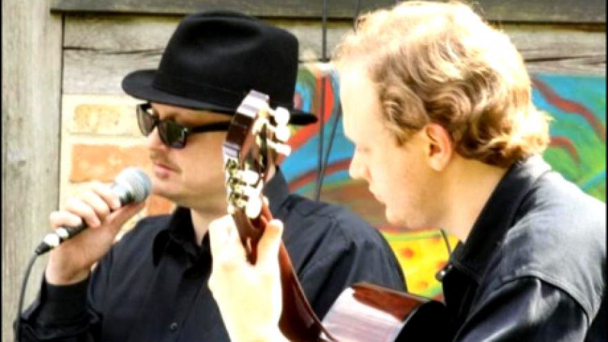 "Dueto ""Acoustic SLAM"" koncertas"