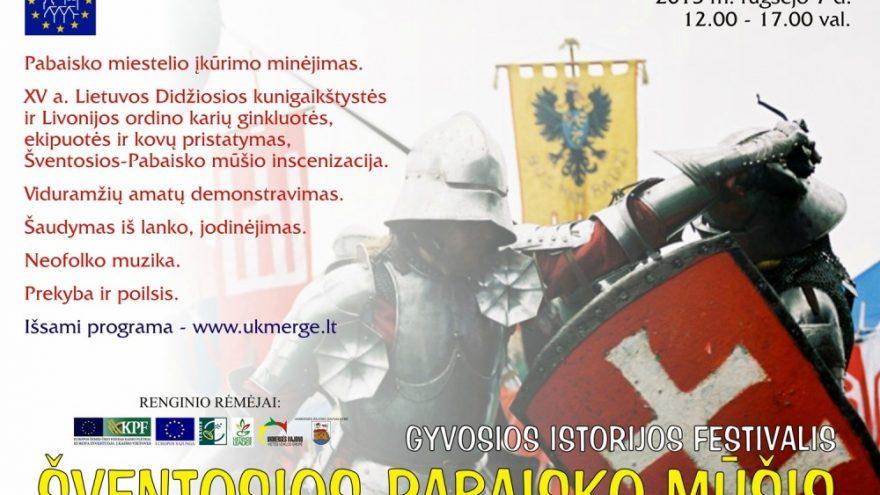 Gyvosios istorijos fesitvalis: Šventosios-Pabaisko mūšis
