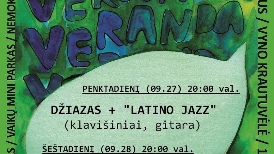 """Džiazas + """"Latino jazz"""""""
