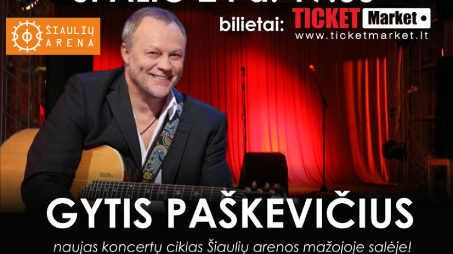 """GYTIS PAŠKEVIČIUS ir grupė – """"Raudoni Muzikiniai Vakarai"""""""
