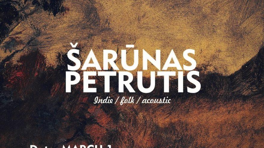 ŠARŪNAS PETRUTIS akustiškai@Žvejų baras!