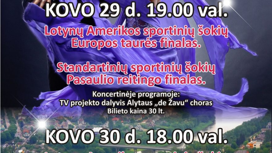 """XVIII sportinių šokių festivalis """"Alytus Open 2014"""""""