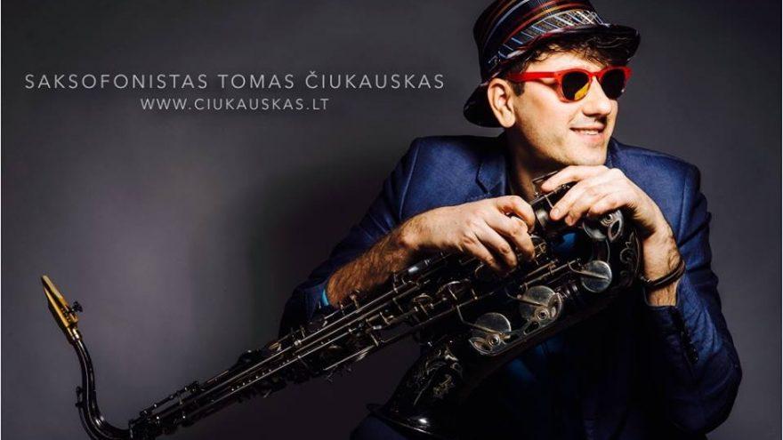 Solo saksofonu – Tomas Čiukauskas   Druskininkai