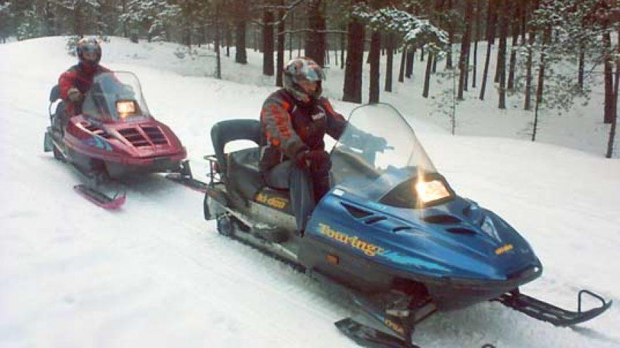 Orientacinės sniego motociklų varžybos