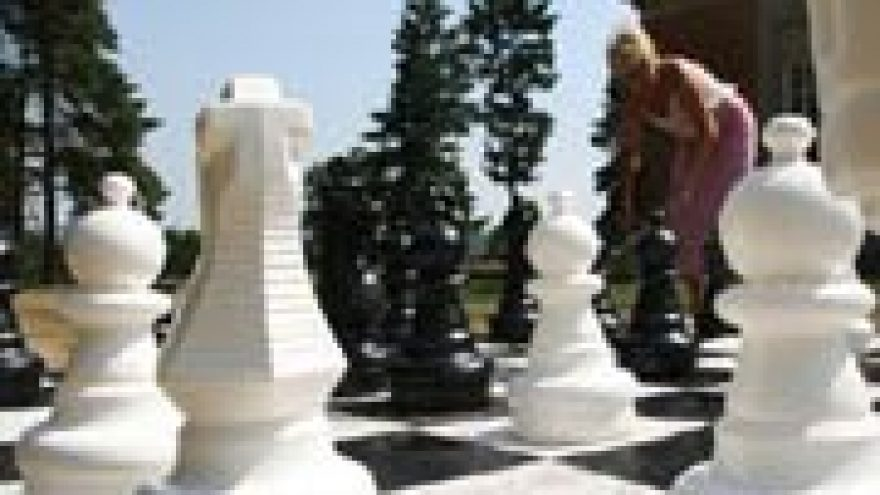 Sostinės dienos su Dideliais Šachmatais