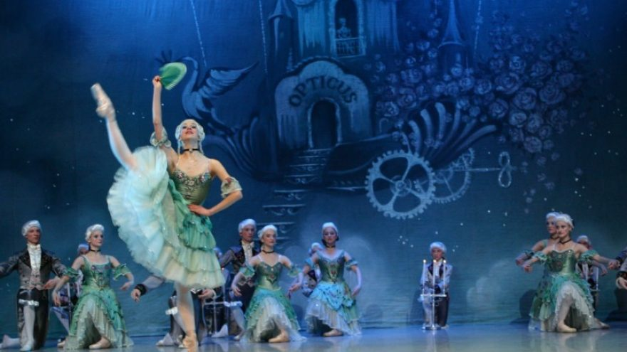 Ryga + baletas Kopelija