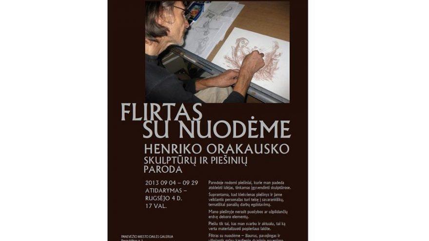 Henriko Orakausko skulptūrų ir piešinių paroda