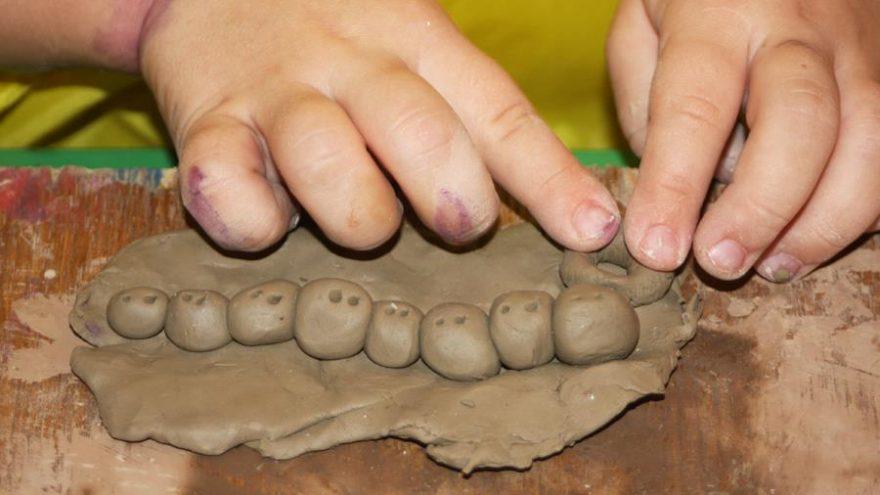 Keramikos užsiėmimai vaikams