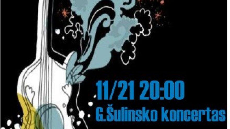G.Šulinsko koncertas