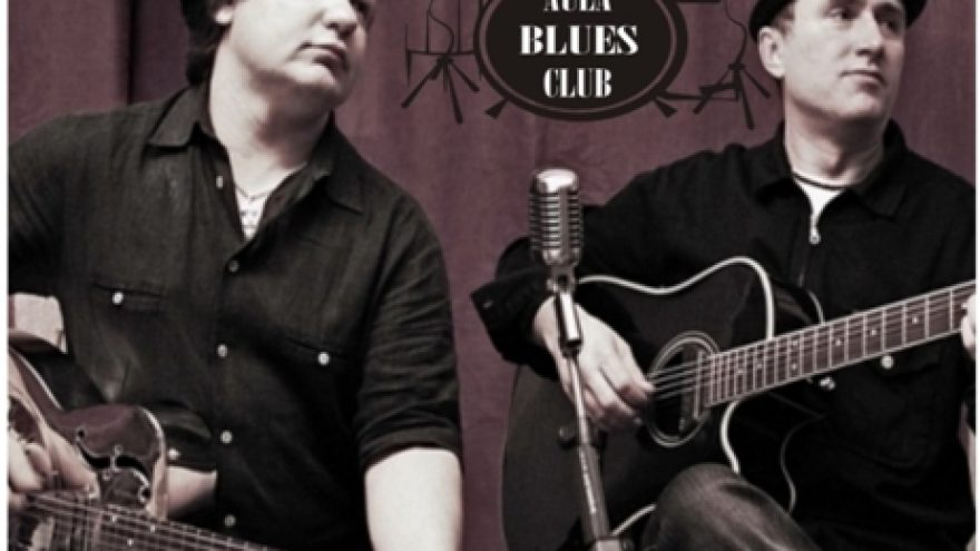 Acoustic blues duo