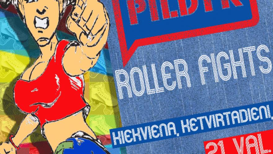 Pildyk Roller Fights: Rockenroller
