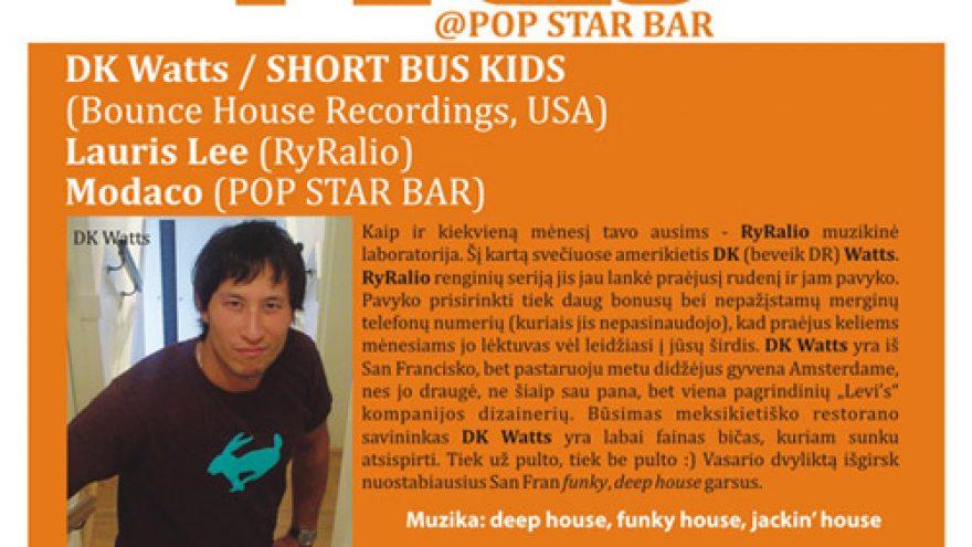 RyRalio @ POP STAR BAR