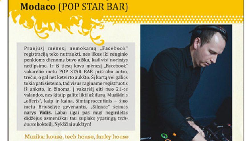 POP STAR FACEBOOK PARTY