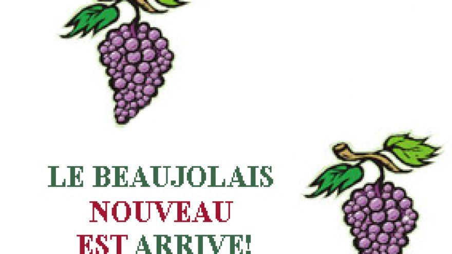 Beaujolais Nouveau 2010 vyno sutikimas