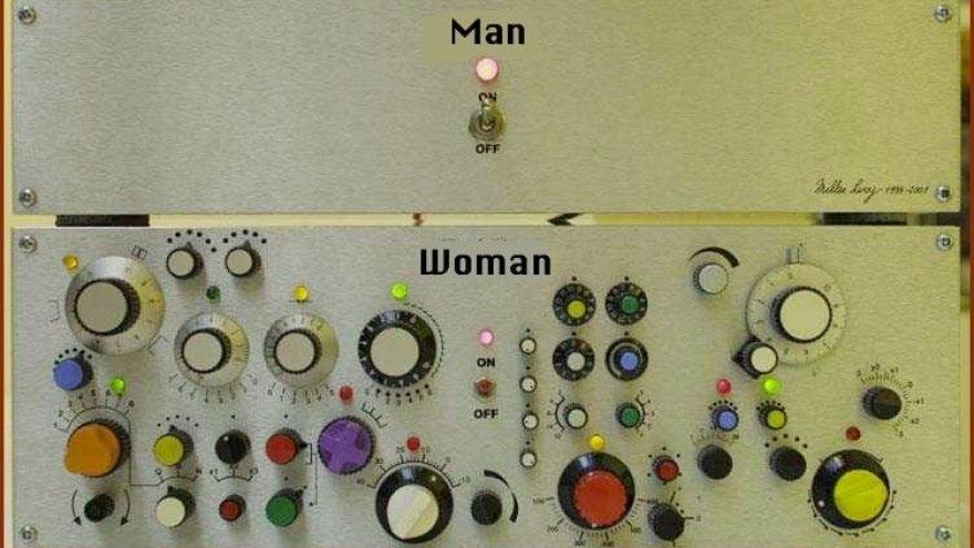"""""""Vyrai ir moterys: dvi skirtingos gyvybės formos"""""""