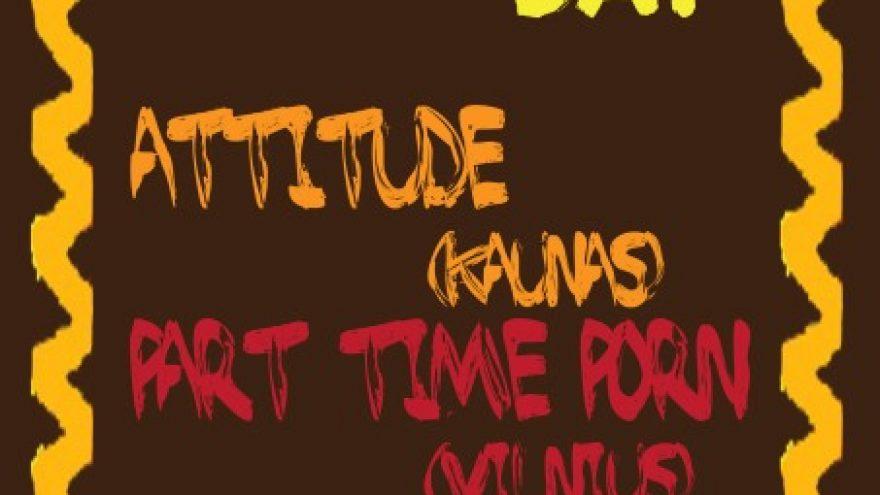 Random Thursday su ATTITUDE ir PART TIME PORN