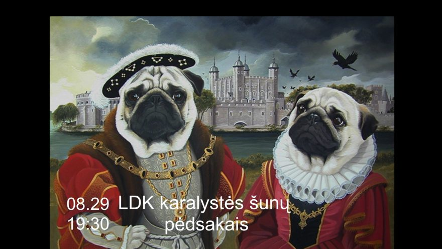 LDK karalystės šunų pėdsakais