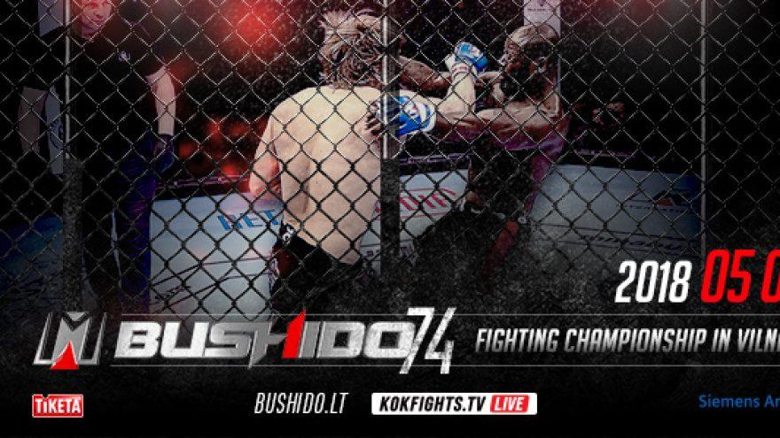 MMA'74 Bushido Championship