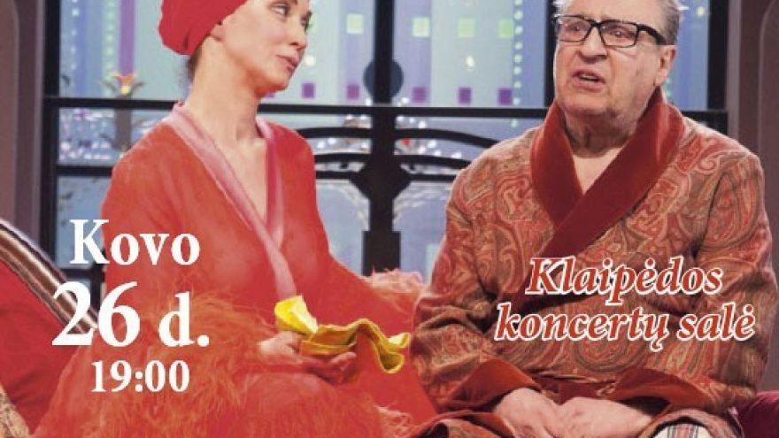 (Perkeltas) Maskvos teatras LENKOM pristato sezono premjerą AMERIKIETIŠKI KALNELIAI | KLAIPĖDA
