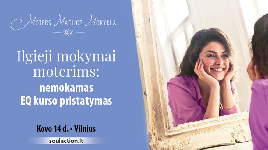 Emocinio intelekto lavinimo kursas moterims Vilniuje