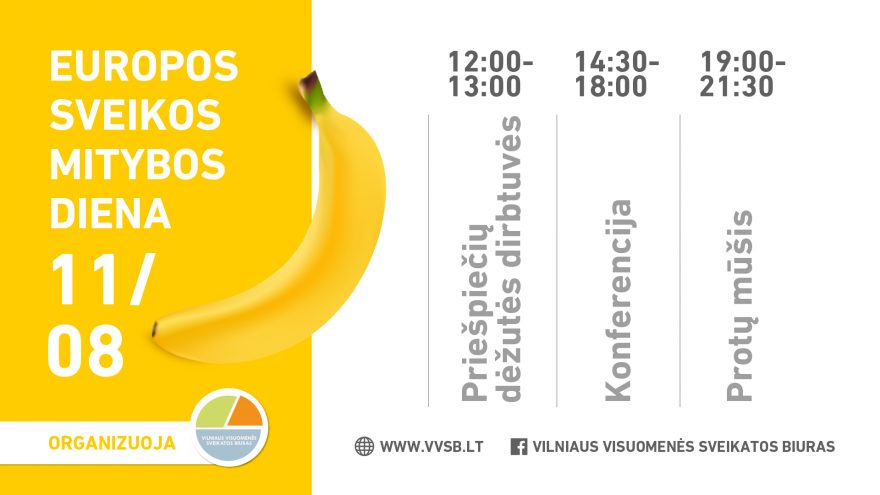 Europos sveikos mitybos diena