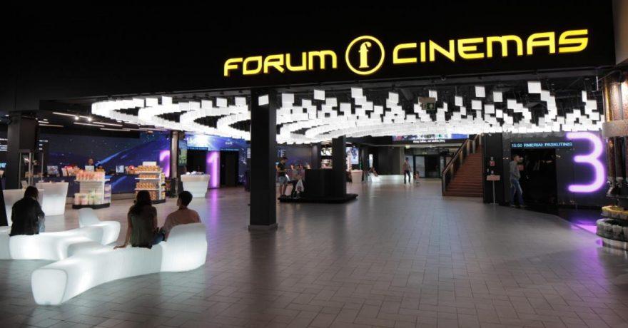 """Kauno """"Forum Cinemas"""" interjeras įvertintas vienu prestižiškiausių pasaulio architektūros apdovanojimų"""