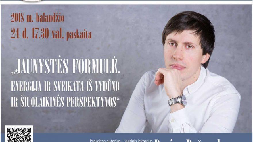 Darius Ražauskas apie sveiką gyvenseną iš Vydūno ir šiuolaikinės perspektyvos