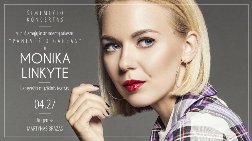 """Šimtmečio koncertas: """"Panevėžio garsas"""" su Monika Linkyte"""