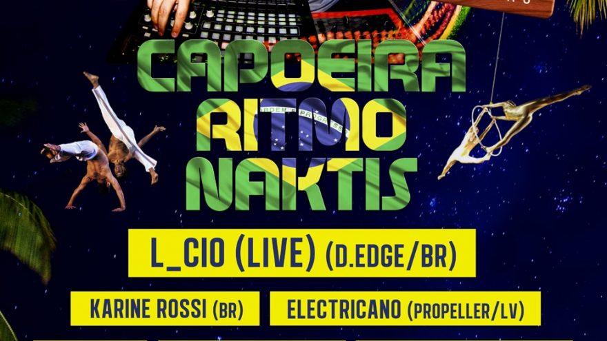 Capoeira ritmo naktis: L_cio (live) (D.Edge/Brazil)