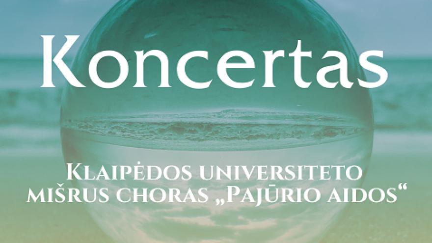Chorinės muzikos koncertas Nidoje