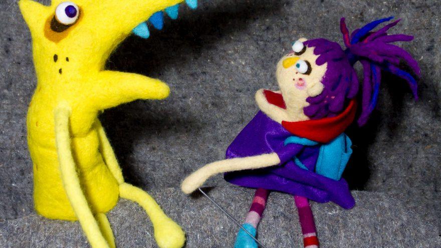 """Lėlių spektaklis """"Raudonkepuraitė"""""""