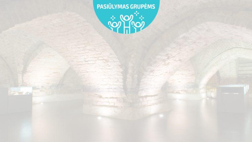 Pasiūlymai grupėms: Ekskursija Vilniaus požemiai
