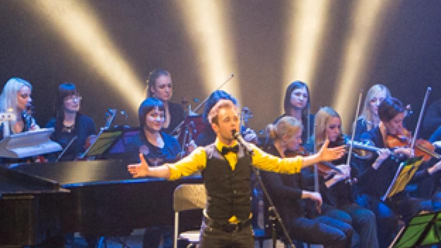 LIŪDNI SLIBINAI su VDU kameriniu orkestru | Vilniuje