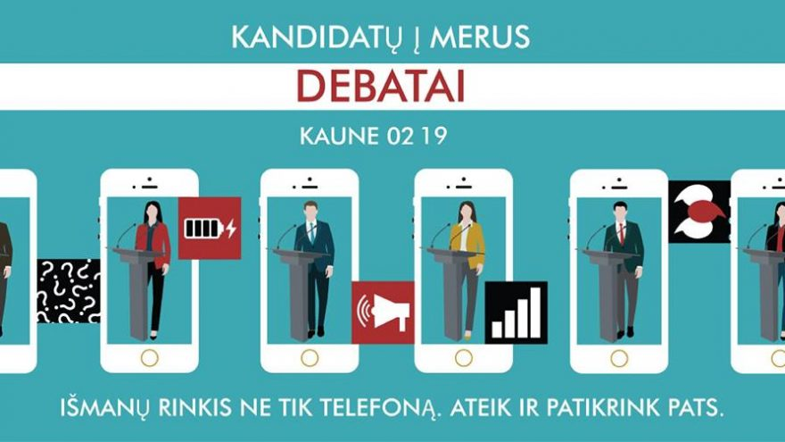 Kandidatų į merus debatai | Kaune
