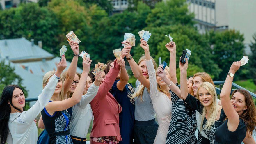 Moteris ir Finansai: noriu turėti pinigų sau ir būti laiminga, Vilniuje