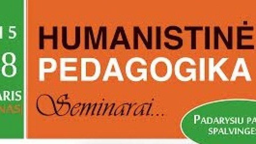 Šalva Amonašvilio – humanistinės pedagogikos seminaras