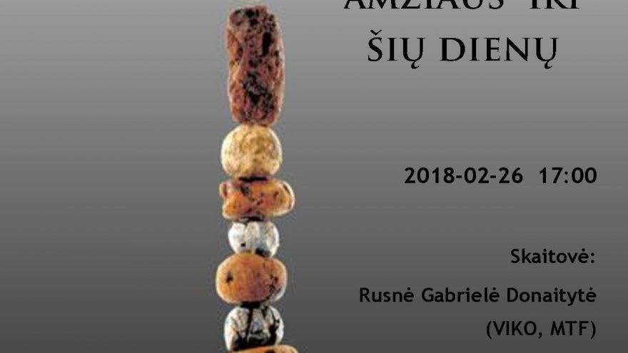 Aksesuarų istorija Lietuvoje nuo akmens amžiaus iki šių dienų