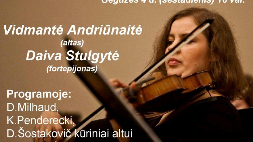 Vidmantės Andriūnaitės koncertas