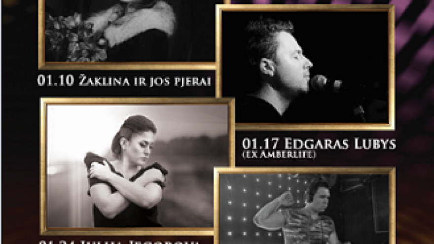 Gyvos muzikos/ Live music vakarai