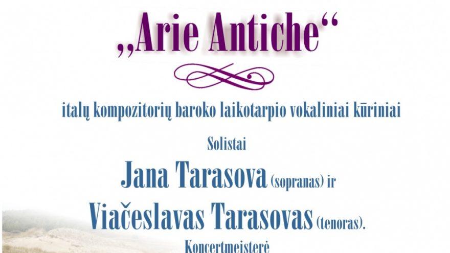 """,,Arie Antiche"""""""