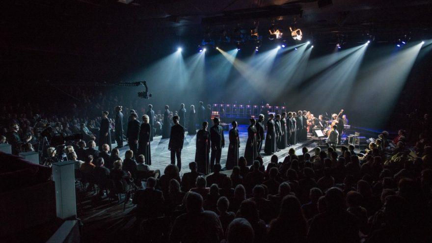 Choro JAUNA MUZIKA koncertas Palangoje