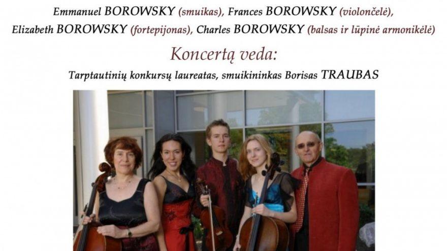 """Ansamblio """"Amerikos virtuozai"""" koncertas Anykščiuose !"""