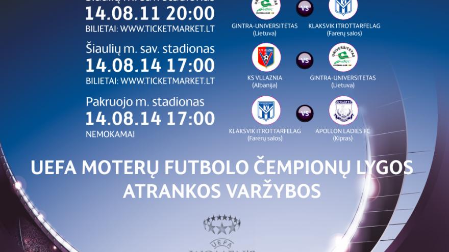 UEFA MOTERŲ FUTBOLO ČEMPIONŲ LYGOS ATRANKOS VARŽYBOS