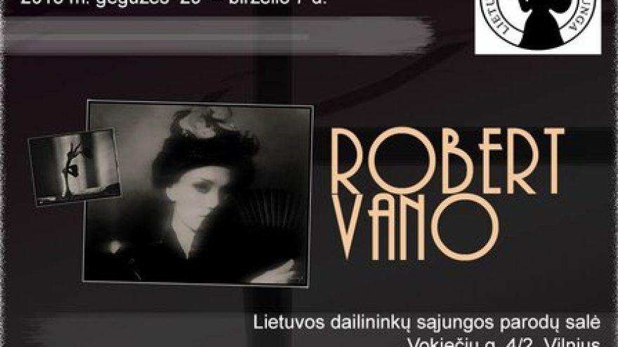 Čekų fotografo Robert Vano rinktinių darbų paroda