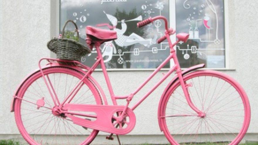 Rožinių dviračių ekskursija