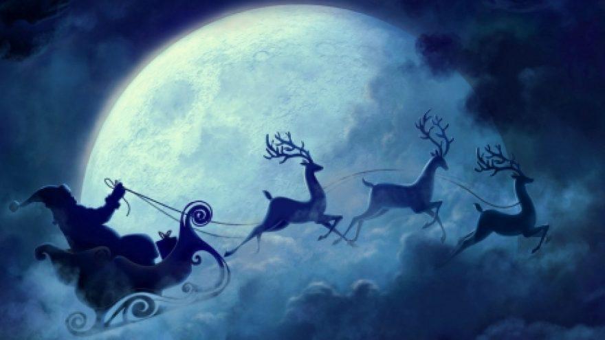 Kalėdų Senelio išlydėjimas į Šiaurės ašigalį