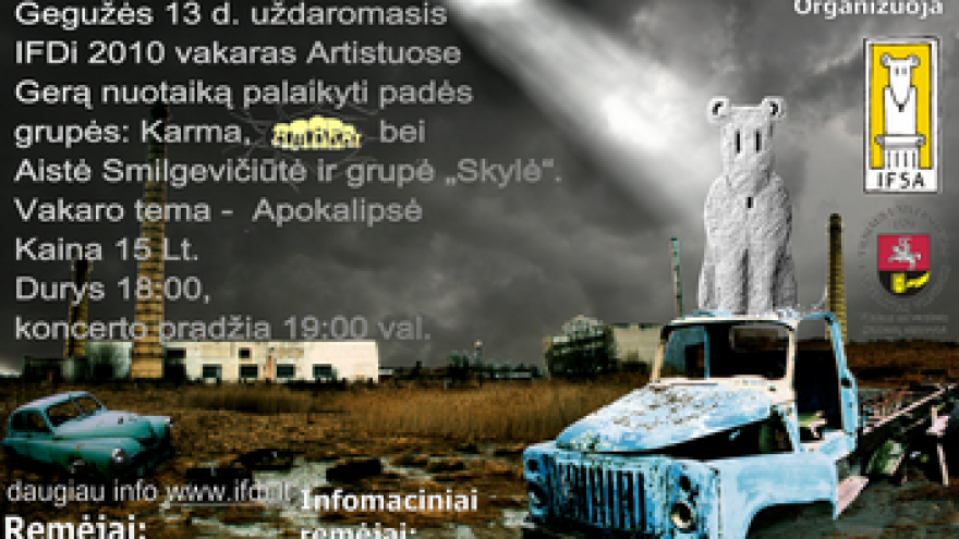"IFDi 2010 – ""Apokalipsė """