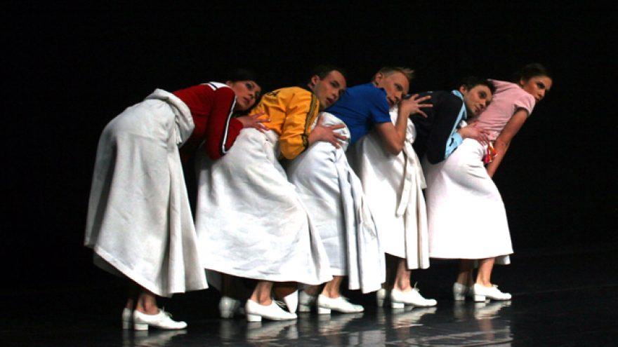 """Gyčio Ivanausko teatro spektaklis """"Vyrai baltais sijonais"""""""
